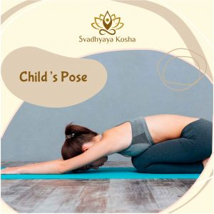 Child pose for back pain