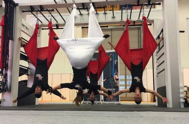 Fly Like A Butterfly With Aerial Yoga