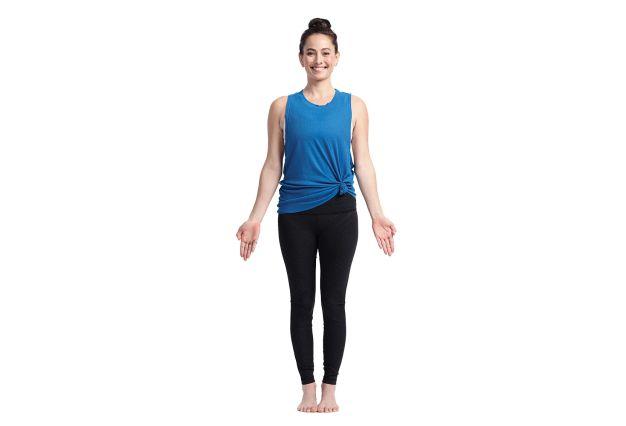 Mountain Yoga Poses to Balance Vata