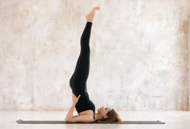 Shoulder Stand Yoga Poses to Balance Kapha