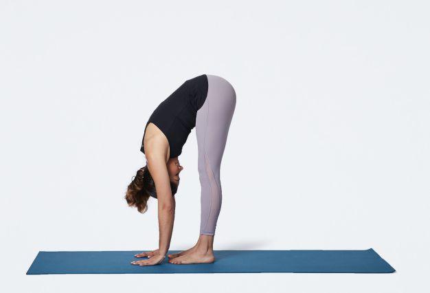 Standing Forward Bend Yoga Poses to Balance Pitta
